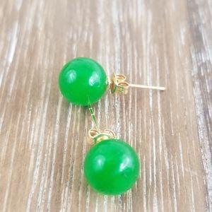 2/$20 Jade Stud Earrings